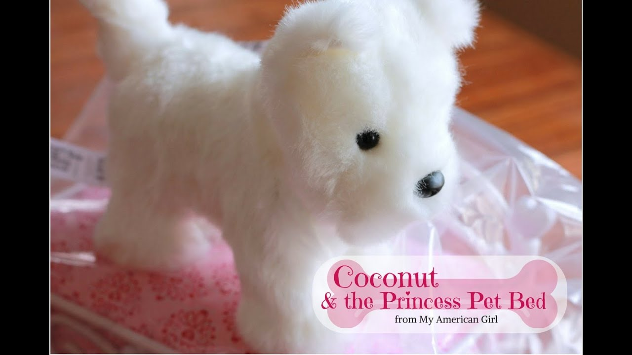 Coconut & Princess Pet Bed - American Girl Doll Review ...