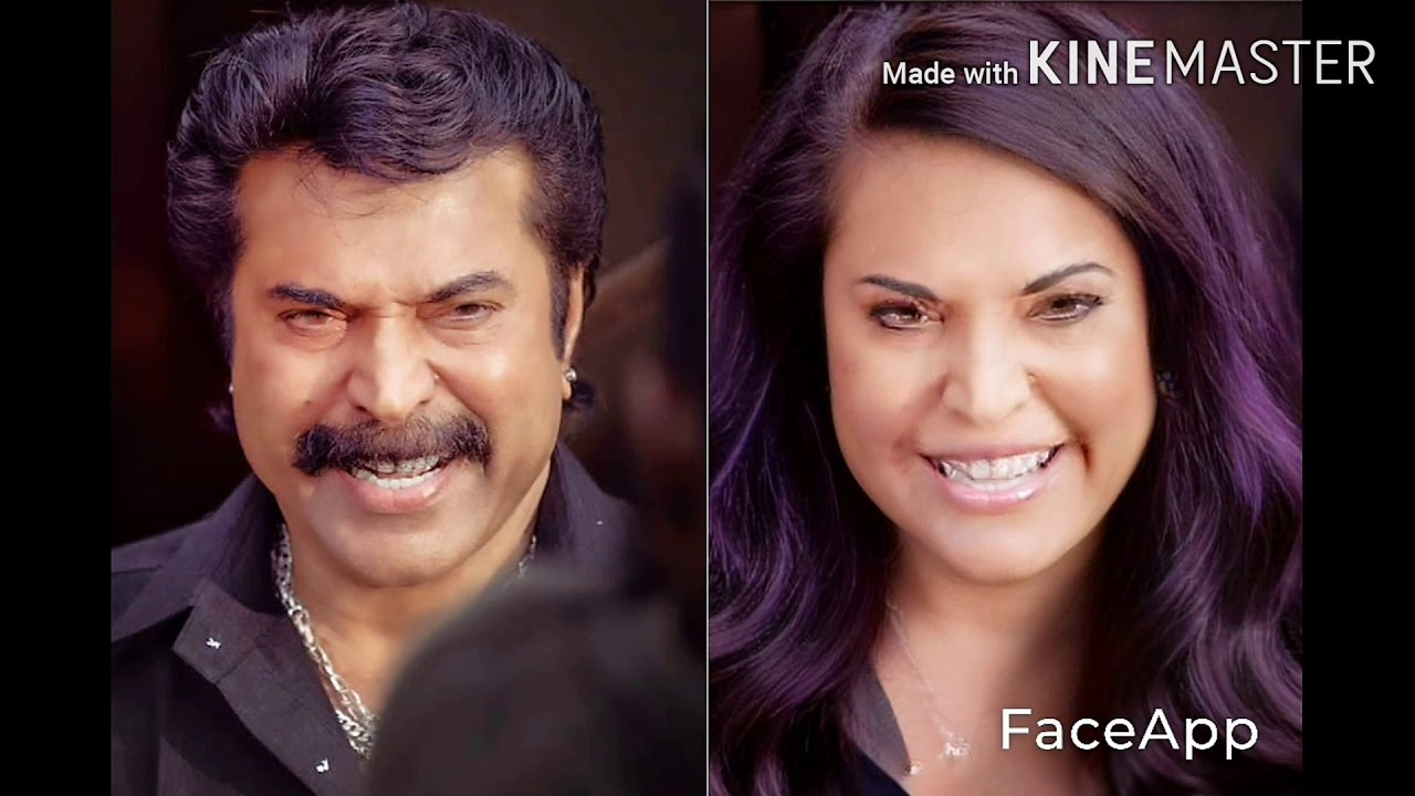 Film actor faceapp in malayalam