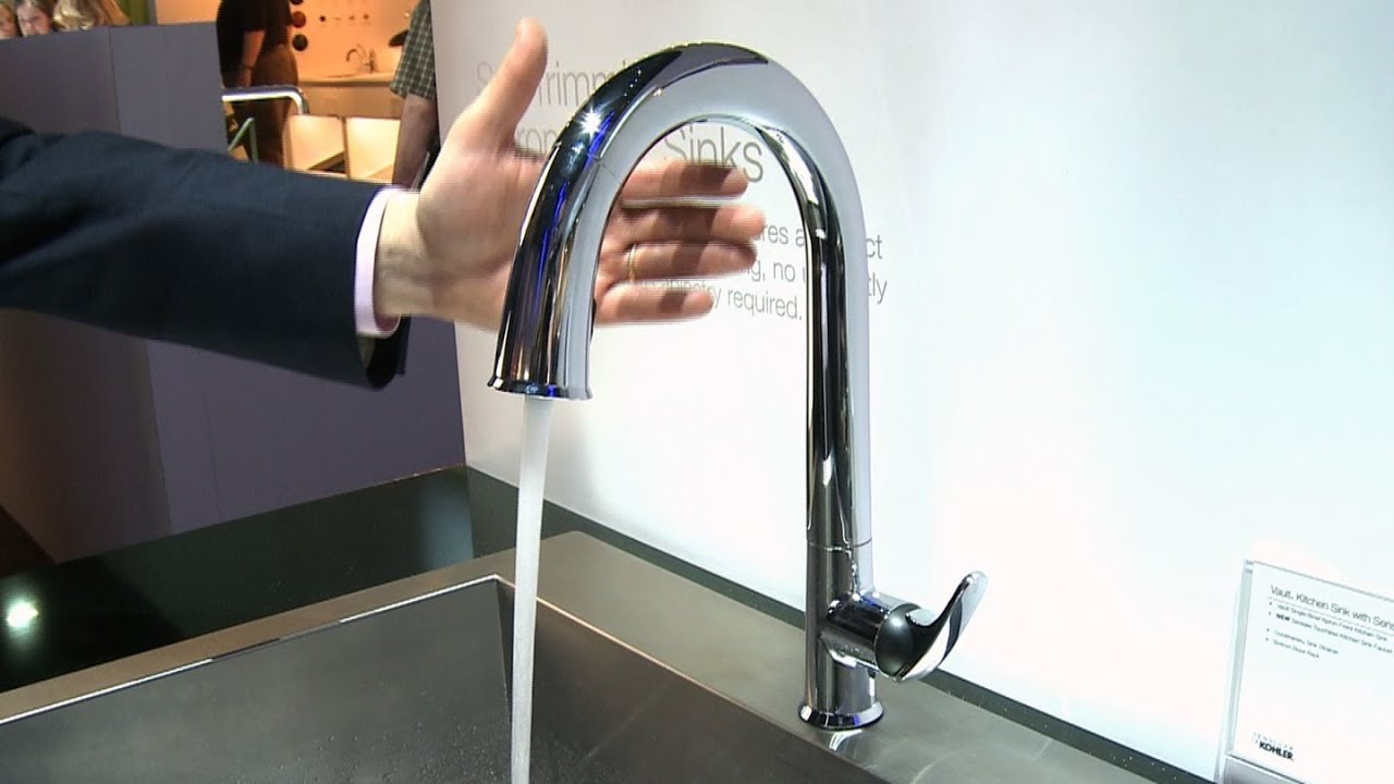 Kohler Sensate touchless faucet | Consumer Reports - YouTube