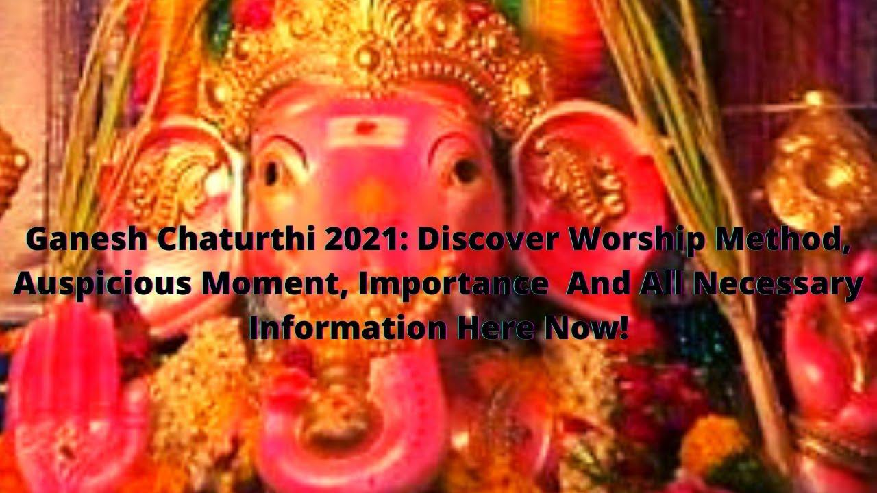 Ganesh Chaturthi 2021: Timings to avoid Moon sighting and myth