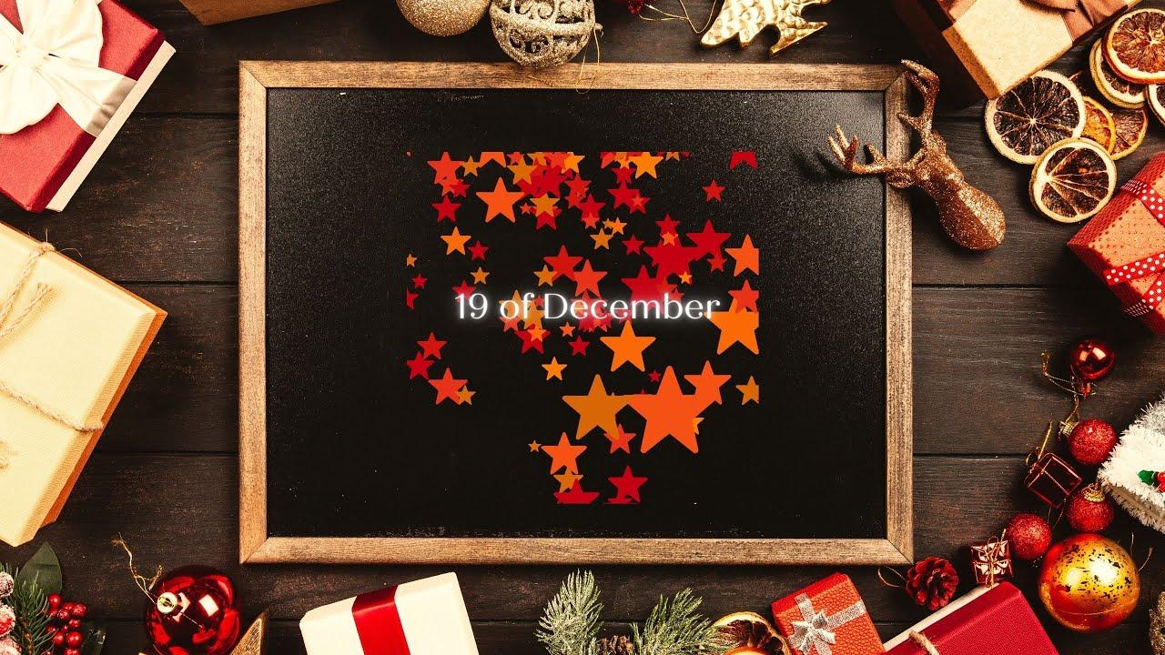 December Pure Heart Calendar - 19/12