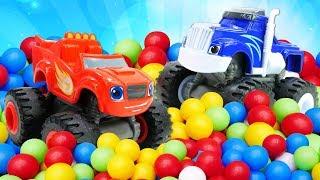 Blaze and the Monster Machines Full Episodes: Toy Cars for Kids & Monster Trucks for Children