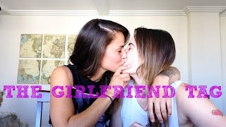 the girlfriend tag   lesbian couple
