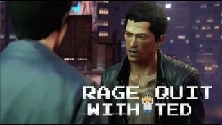 Sleeping Dogs (The Game Not the Animal) - RAGE QUIT WITH TED Ep. 4