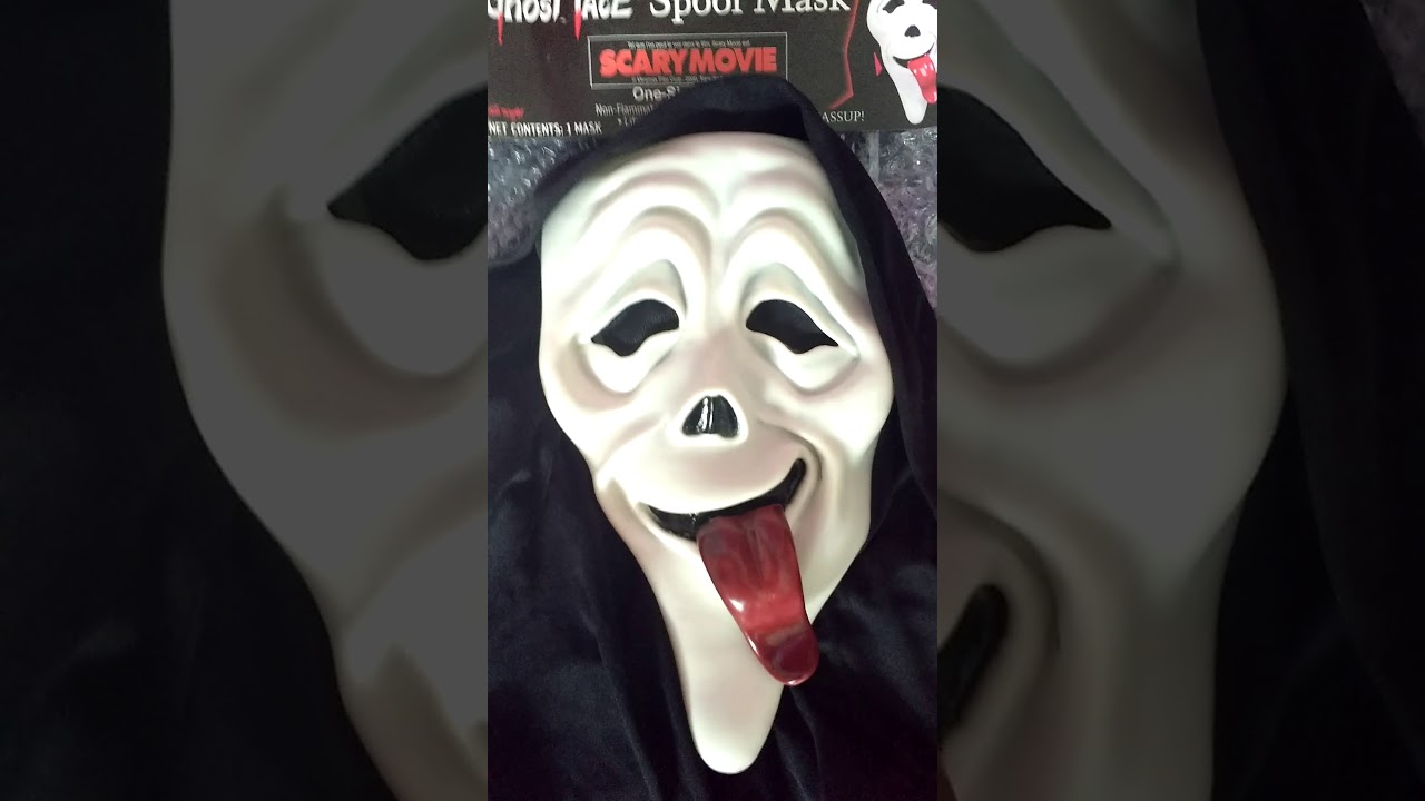 Scary Movie Ghost Face wazzup mask review. - YouTube Scary Movie 1 Scream Wazzup
