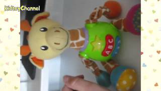 Обзор игрушки ЖИРАФ! С Буквами и цифрами