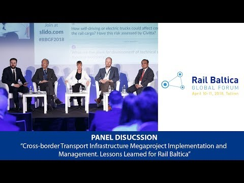 Panel Discussion: Rail Baltica and Finland   RBGF 2018