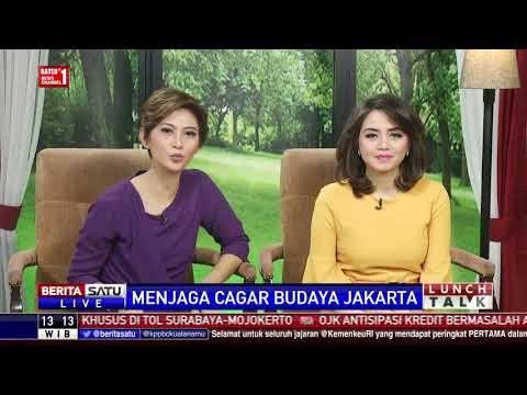 Lunch Talk: Menjaga Cagar Budaya Jakarta #1