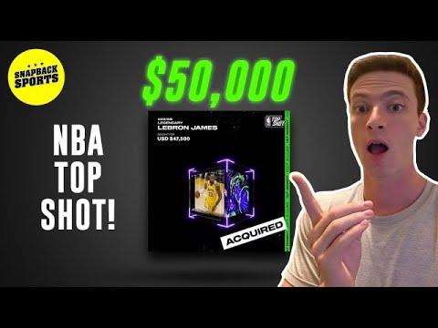 We Spent $50,000 on a LeBron James Dunk Highlight...NBA Top Shot | SnapBack Sports