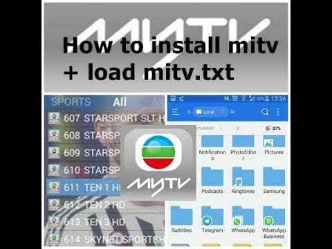 How to install miTV apk