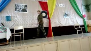 Инсценировка военной песни Три танкиста 9Б