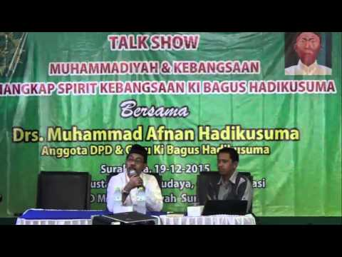 TALK SHOW MAJELIS PUSTAKA SEJARAH KI BAGUS HADIKUSUMA DI BALAI MUHAMMADIYAH SOLO #2