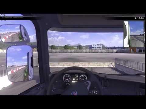 Scania รถบรรทุกขับรถจำลอง - ดูครั้งแรก