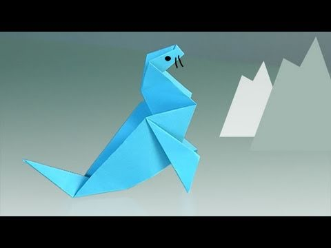 Comment faire une phoque origami youtube - Comment faire origami ...
