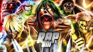 Rap dos 9 Titãs Primordiais 『 Shingeki no Kyojin 』| ESPECIAL 200K | URT (@Prod Hunter)