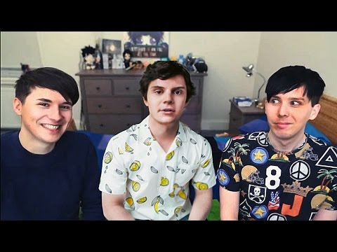Dan and Phil talking fondly about boys - not straight compil