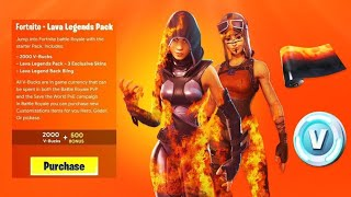 """VOICI the EXCLUSIVE PACK """"FIERES LEGENDS"""" on Fortnite! (SEASON 8)"""