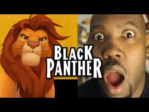 My Opinion: BLACK PANTHER IS LION KING...Stay Woke!