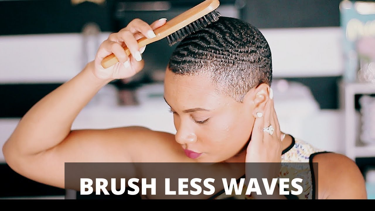 How To Get Brush Less Waves Youtube