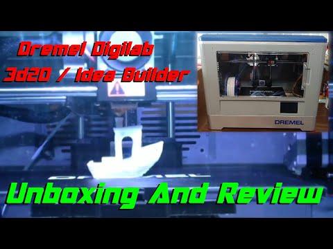 Dremel Digilab 3D20 (Idea Builder), Unboxing And Review!!! | 3D Printing