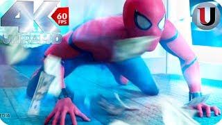 ATM Robbery Scene - Spider Man Homecoming - 2017 MOVIE CLIP (4K)