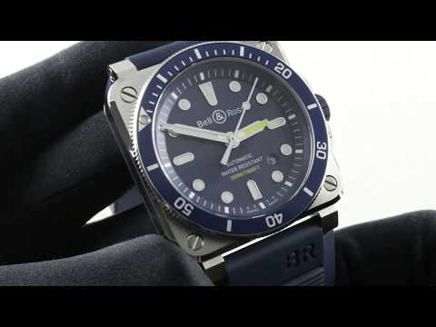 Bell & Ross Instrument BR-03-92 Diver Blue (BR0392-D-BU-ST/SRB) Luxury Watch Review