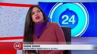 Vocera de toma feminista en U. de Chile: