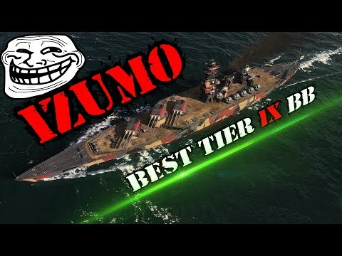 Izumo Best tier IX BB? :O World of Warships