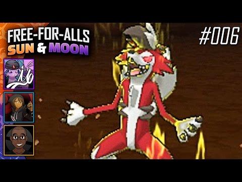 Pokémon Sun & Moon FFAs #006 Feat. TheHeatedMo, NumbNexus & JayYTGamer!