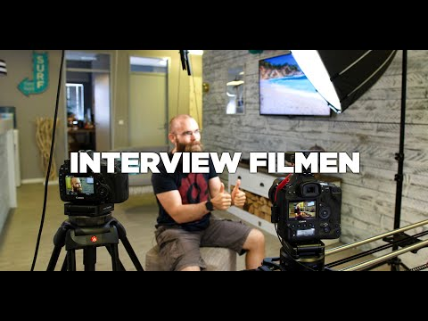 Ein Interview Filmen | Grundlagen Tutorial Professionelle Videos Drehen
