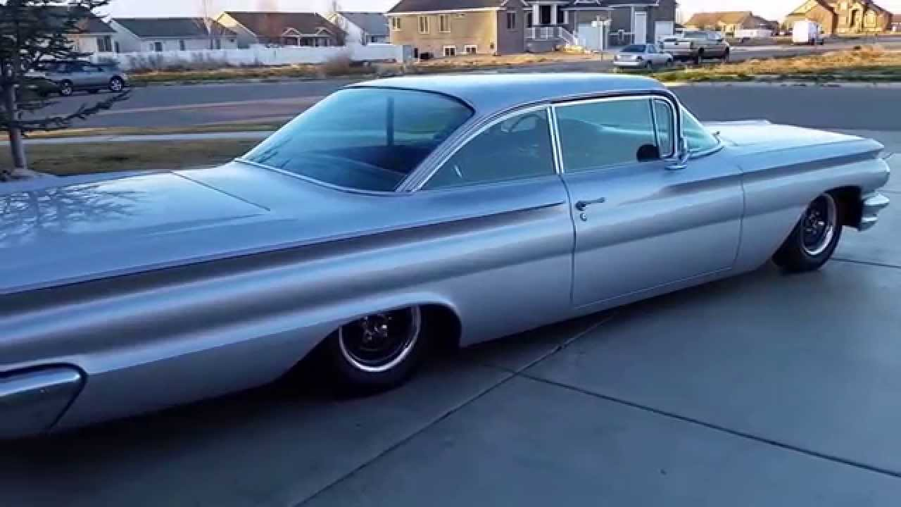 For Sale 1960 Pontiac Bonneville Coupe Air Ride Youtube