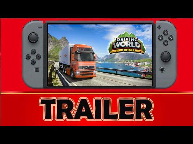 Driving World Nordic Challenge  Nintendo Switch