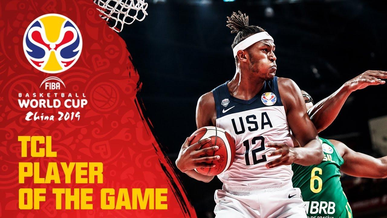 Myles Turner | USA v Brazil | TCL Player of the Game - FIBA Basketball World Cup 2019