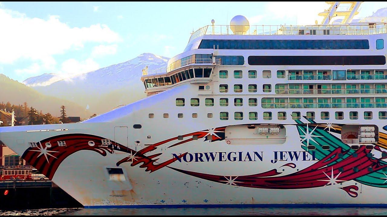 Norwegian Jewel In Alaska Youtube