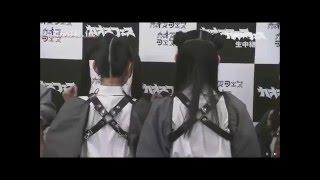 古川未鈴&相沢梨紗のツインテールとお団子。
