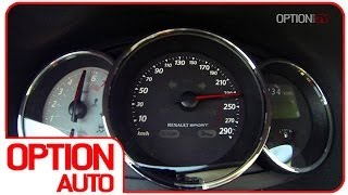 0-100/Exhaust Sound : Renault Megane RS 2014 (Option Auto)
