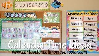 Calendar Time Bulletin Board Ideas