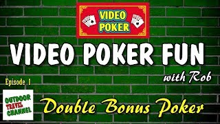 Video Poker Fun, 🎰 Double Bonus Poker with Rob