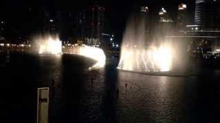 The Water is Dancing to Um Kalthoum's Inta Omri!