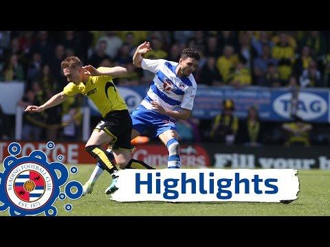Burton Albion 2-4 Reading, Sky Bet Championship, 7th May 2017 (2016/17 highlights) HD