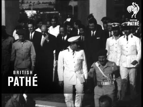 U Thant And Nasser Talks (1967)