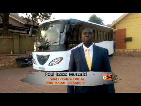 Solar Powered Bus in Uganda