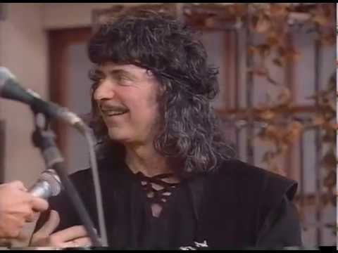 Ritchie Blackmore  & Candice Night's first Appearance on Television