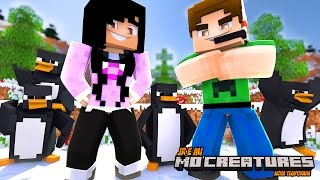 PINGUINS DE MADAGASCAR !! MoCreatures #03 - Minecraft 1.10.2 (Série Nova)