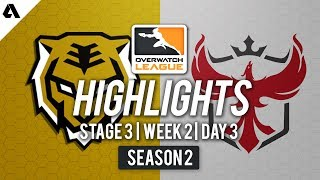 Seoul Dynasty vs. Atlanta Reign   Overwatch League S2 Highlights - Stage 3 Week 2 Day 3