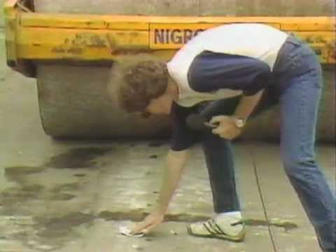 Letterman Crushes Things With A Steamroller