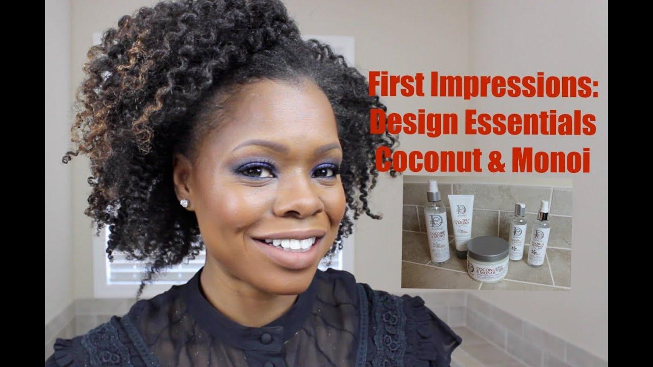 First Impressions Design Essentials Natural Coconut Monoi Full