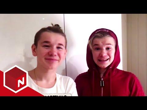 Marcus & Martinus har en stor overraskelse til jentene | Sinnasnekker'n | TVNorge