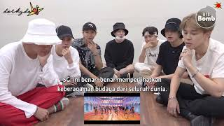 [INDO SUB] 180904 [BANGTAN BOMB] BTS 'IDOL' MV reaction - BTS (방탄소년단)