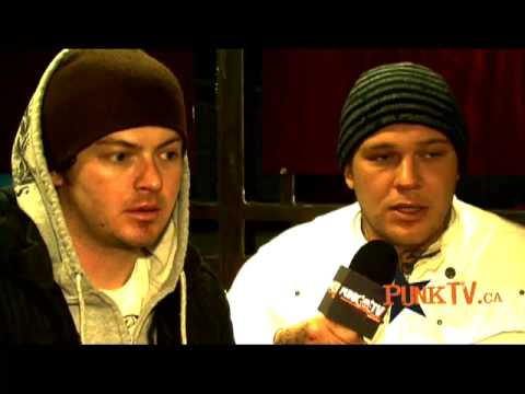 Hollywood Undead Interview with PunkTV.ca by Dixon Christie Part 1 of 2